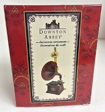 """NEW! Dowtown Abbey by Kurt S. Adler 4"""" Vintage Phonograph Record Player Ornament"""