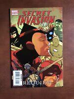 Secret Invasion Requiem #1 (2009) 9.4 NM Marvel Key Issue Comic Book One Shot