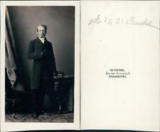 Charles Winter, Strasbourg, Docteur Boeckel Vintage CDV albumen carte de visite.