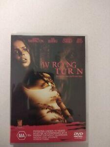 Wrong Turn Rare dvd R4