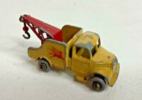 VINTAGE MATCHBOX LESNEY 13B BEDFORD WRECK Tow Truck with Pegasus Logo Gray Wheel