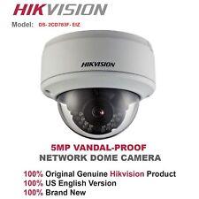 Hikvision CCTV 5MP Vandal IP Dome Camera/3.5~9mm Motorized Lens/PoE/Audio/ alarm