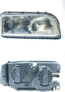 Premium Headlight Assembly Right|URO Parts 9159413 fits 93-97 Volvo 850