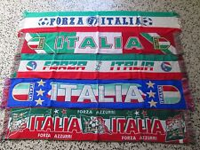A1 Lot 5 Foulards Italie Football Federation Football Écharpe Italie Lot