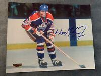 Wayne Gretzky Hand Signed Autographed 8X10 Photo Edmonton Oilers HOF W/COA