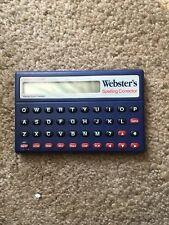 Vintage Franklin Nc-10 Webster's Spelling Corrector Next Century Games
