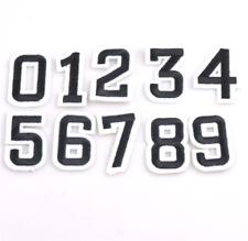 Patch Toppa Numeri Number 1 2 3 4 5 6 7 8 9 0 Ricamata Termoadesiva 5x3,3cm