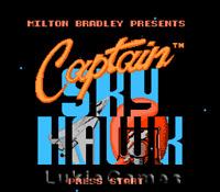 Captain Skyhawk - NES Nintendo Game