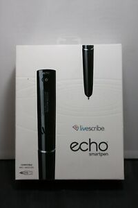 LIVESCRIBE 2GB Echo Smartpen NIB LOOK!!!!!!!!!!