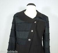 INSIGHT Black Blazer with Three Button closure size 10