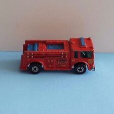 (a) Vintage Mattel Hot Wheels Fire-Eater, Red, Blackwalls