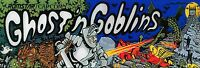Ghost Goblins High Quality Metal Magnet 2 x 6 inches 9146