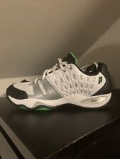 Prince Mens T22 Tennis Shoes Size 12 White Green Black Synthetic 8P984149