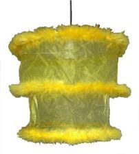 30.5cm niveau 2 organza ABAT JOUR OR JAUNE moelleux pendentif