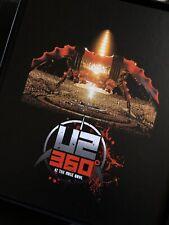 """U2 360• Live At The Rose Bowl Rare Box 3 X Discs 7"""" Vinyl Books + Prints Picks"""