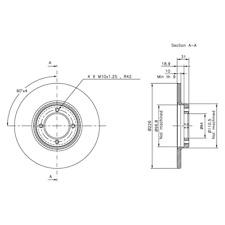 Bremsscheibe (2 Stück) - NK 204508