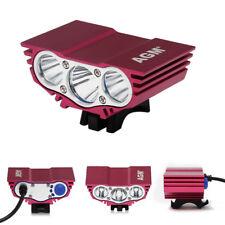CREE U2 X3 XML Front MTB Bicycle Bike Light Lamp & Battery Pack 5200mAh in UK