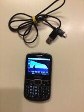 Samsung Cricket Wireless Cell SCH-R390 Cellular Phone Black