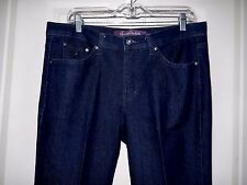 Gloria Vanderbilt The Perfect Fit Stretch Jeans-14   Refreshingly un-distressed!