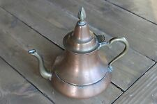 Antique Copper Brass Tea Pot Kettle