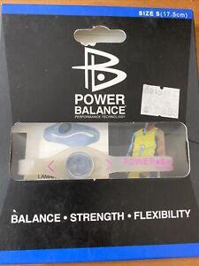 Power Balance Bracelet Wrist Size Small Clear (17.5.cm) - NEW - MSRP:  $29.99