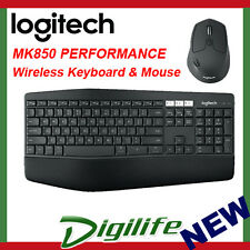 Logitech MK850 USB Wireless Bluetooth Keyboard and Mouse Combo for PC Mac