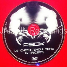 P90X - DVD 09 - DISC 9 - CHEST, SHOULDERS, TRICEPS - OFFICIAL RELEASE BRAND NEW