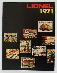 Lionel 1971 Advance Dealer Train Catalog Mint original