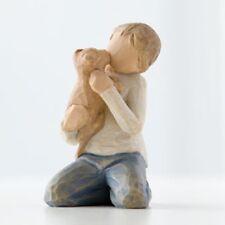 Kindness Willow Tree Boy Puppy Dog Figurine by Susan Lordi New Demdaco 26217