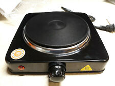 1000W Electric Single Stove Hot Plate Burner Portable Kitchen Cooking Hotplate