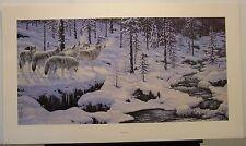 """Jeff Tift """"Winter's Cry"""" S/N Ltd Ed Print #4/850"""