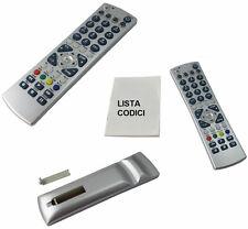 Telecomando Universale TV,LCD,Plasma,LED,Decoder,Dvb,Digitale,SAT,VCR,codici inc