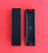 "2 x Euro-Style 12.5mm x 50mm Quarter Blanks in Black ""BRAND NEW!"""