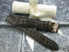 19mm Vacheron Constantin Brown ALLIGATOR STRAP Curve Edge Watch BAND VC