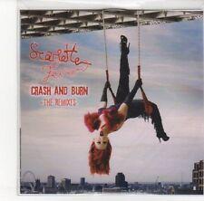 (DL749) Scarlette Fever, Crash & Burn (the remixes) - DJ CD
