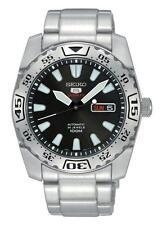 Seiko Armbanduhren aus Edelstahl mit Datumsanzeige für Erwachsene