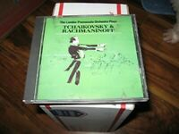 Tchaikovsky / Rachmaninoff - Music CD - Rachmaninoff,Tchaikovsky,London  -  1995