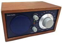 Tivoli Audio Model One AM/FM Table Radio by Henry Kloss - Blue & Walnut - Tested