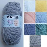 Baby Smiles Fairytale Fab DK Knitting Yarn by Patons * Many Colours * 50g *