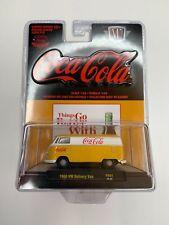 M2 MACHINE COCA-COLA 1960 VW DELIVERY VAN HOBBY EXCLUSIVE YELLOW/WHITE