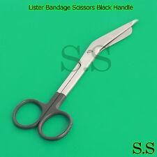 Color Bandage Scissor Paramedic Nurses Uniform Supply (Black Handle)