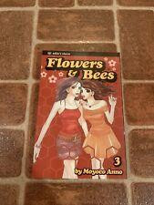 Flowers & Bees Volume 3 English Manga Moyoco Anno Viz FREE SHIPPING