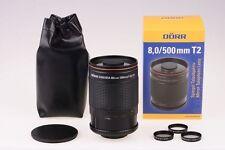Dörr Spiegeltele Teleobjektiv 500mm 500 mm / 8.0 Panasonic GX80 GX8 G70 G81 GH4