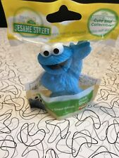 Sesame Street Mini Figurine Cookie Monster Toy or Cake Topper 2.5 inch