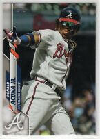 2020 Topps Atlanta Braves Team Set Series 1 2 and Update