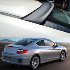 UNPAINTED FOR HONDA Accord 9th COUPE 2D REAR WINDOW ROOF SPOILER K TYPE 13-15 ㊤