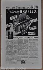 1932 GRAFLEX Camera advertisement, National Graflex camera, Folmer Graflex