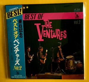 The Ventures The Best Of Ventures Vol.2 JAPAN SHM MINI LP CD UICY-77122