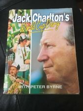 World Cup Diary Hardcover  1990  by Jack Charlton Soccer Football Book