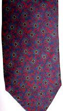 "Lanvin Men's Silk Tie 67.5"" X 3.25"" Multiple Color Geometric"